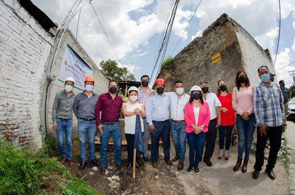 Hildeberto Pérez  Álvarez inicia obras en Zacatelco